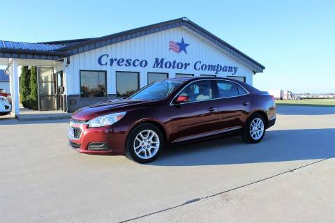 2015 Chevrolet Malibu for sale at Cresco Motor Company in Cresco IA