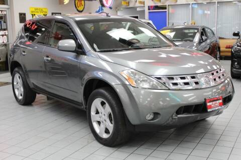 2005 Nissan Murano for sale at Windy City Motors in Chicago IL