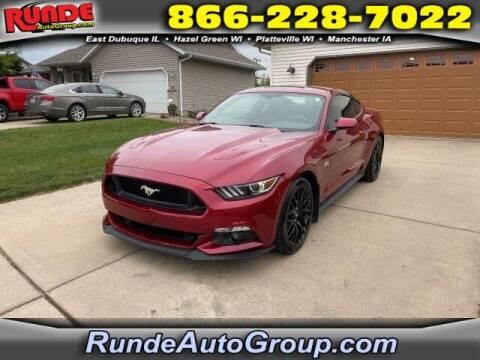 2015 Ford Mustang for sale at Runde PreDriven in Hazel Green WI