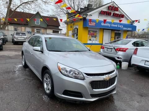 2016 Chevrolet Malibu Limited for sale at C & M Auto Sales in Detroit MI