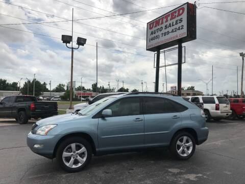 2007 Lexus RX 350 for sale at United Auto Sales in Oklahoma City OK