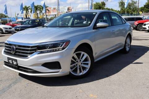 2020 Volkswagen Passat for sale at OCEAN AUTO SALES in Miami FL