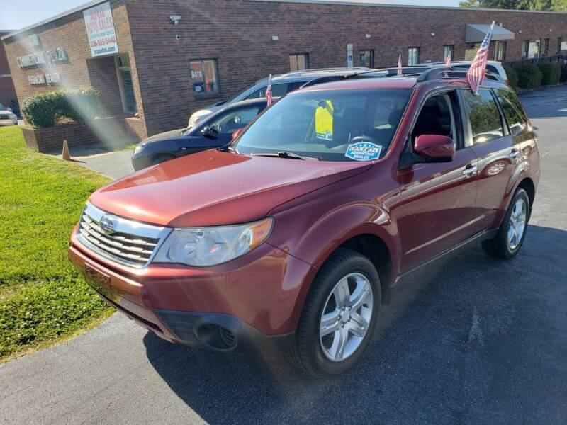 2009 Subaru Forester for sale at ARA Auto Sales in Winston-Salem NC