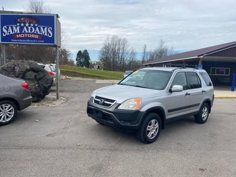 2002 Honda CR-V for sale at Sam Adams Motors in Cedar Springs MI