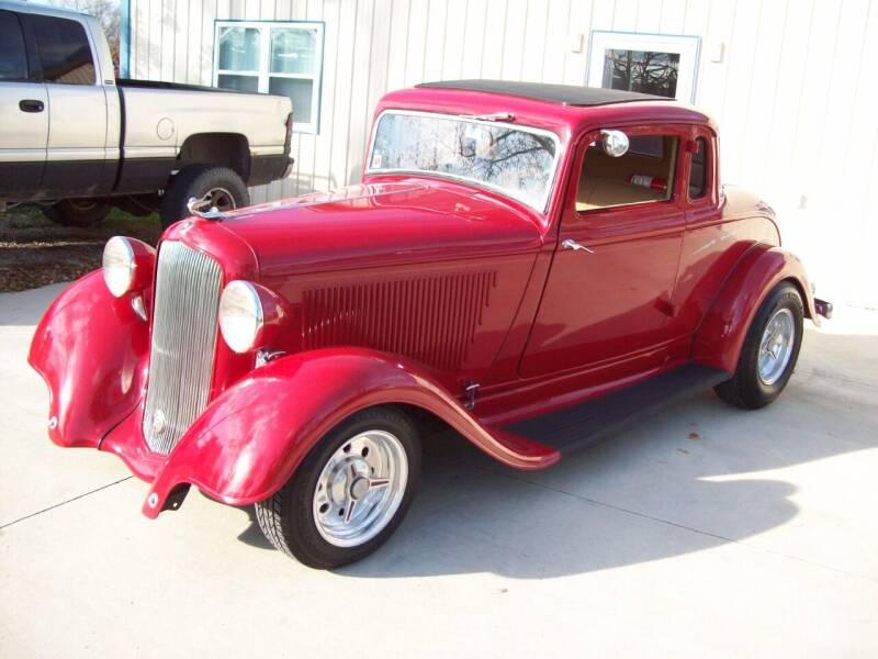 1933 Plymouth Business Coupe for sale at Classics and More LLC in Roseville OH