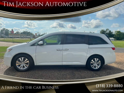 2016 Honda Odyssey for sale at Tim Jackson Automotive in Jonesville LA