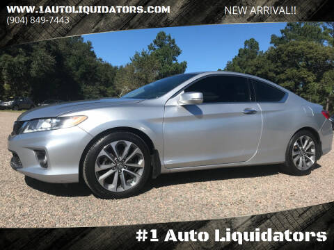 2013 Honda Accord for sale at #1 Auto Liquidators in Yulee FL