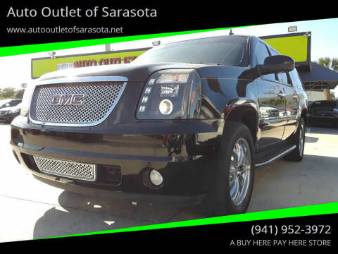 2007 GMC Yukon XL for sale at Auto Outlet of Sarasota in Sarasota FL