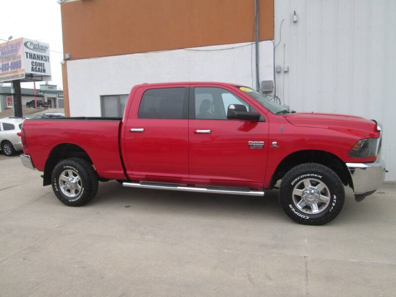 2012 RAM Ram Pickup 2500 for sale at Parkway Motors in Osage Beach MO