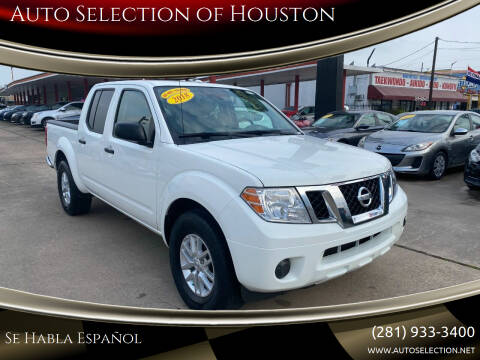 2018 Nissan Frontier for sale at Auto Selection of Houston in Houston TX