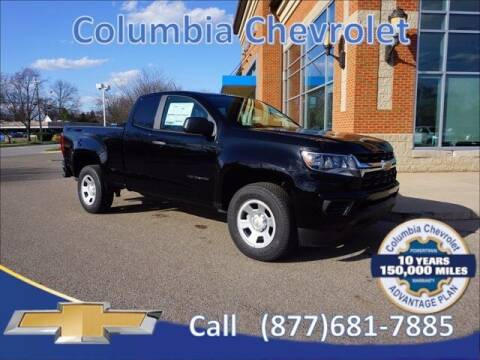 2021 Chevrolet Colorado for sale at COLUMBIA CHEVROLET in Cincinnati OH