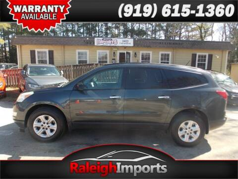 2011 Chevrolet Traverse for sale at Raleigh Imports in Raleigh NC