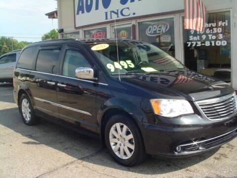 2012 Chrysler Town and Country for sale at G & L Auto Sales Inc in Roseville MI