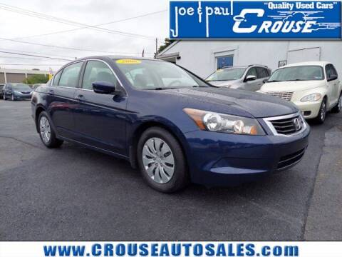 2008 Honda Accord for sale at Joe and Paul Crouse Inc. in Columbia PA