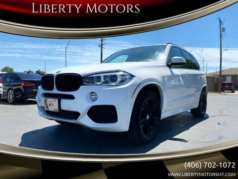 2014 BMW X5 for sale at Liberty Motors in Billings MT