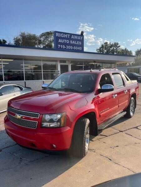 2008 Chevrolet Avalanche for sale at Right Away Auto Sales in Colorado Springs CO