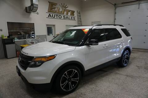 2015 Ford Explorer for sale at Elite Auto Sales in Ammon ID