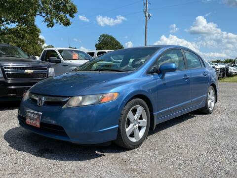 2007 Honda Civic for sale at TINKER MOTOR COMPANY in Indianola OK