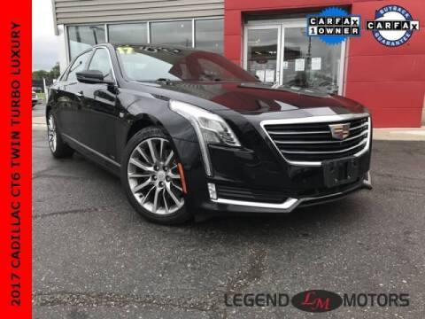 2017 Cadillac CT6 for sale at Legend Motors of Detroit - Legend Motors of Ferndale in Ferndale MI