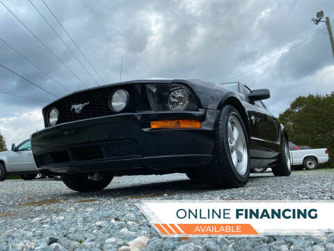 2009 Ford Mustang for sale at Prime One Inc in Walkertown NC
