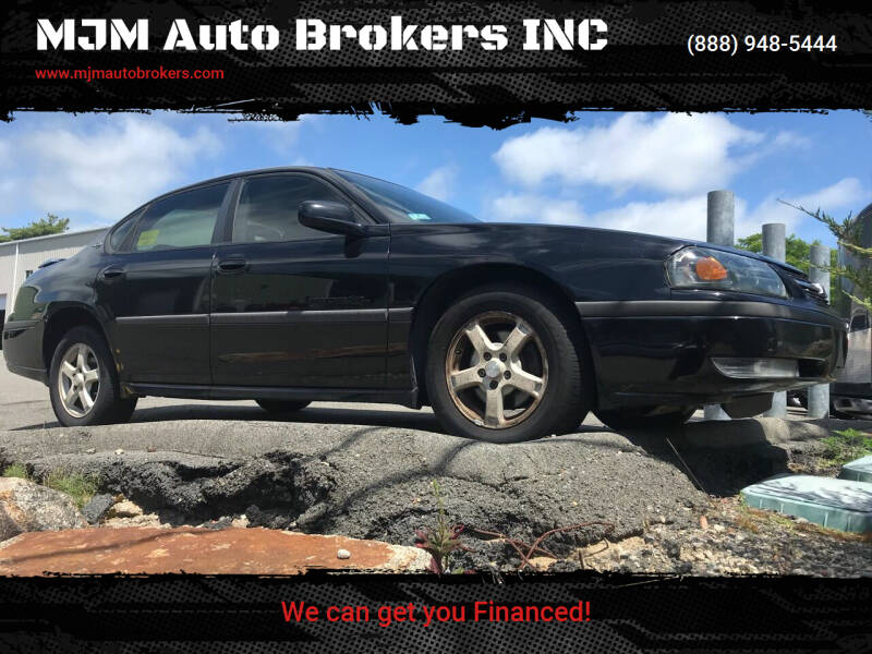 2003 Chevrolet Impala for sale at MJM Auto Brokers INC in Gloucester MA
