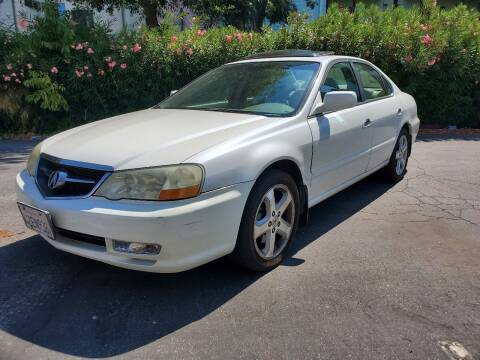 2003 Acura TL for sale at ALL CREDIT AUTO SALES in San Jose CA