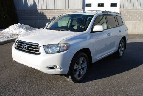 2008 Toyota Highlander for sale at New Milford Motors in New Milford CT