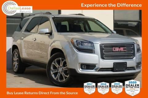 2015 GMC Acadia for sale at Dallas Auto Finance in Dallas TX