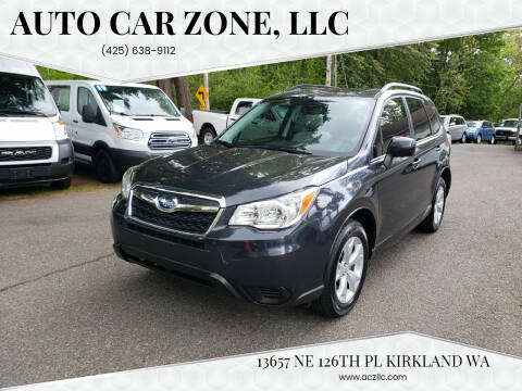 2015 Subaru Forester for sale at Auto Car Zone, LLC in Kirkland WA