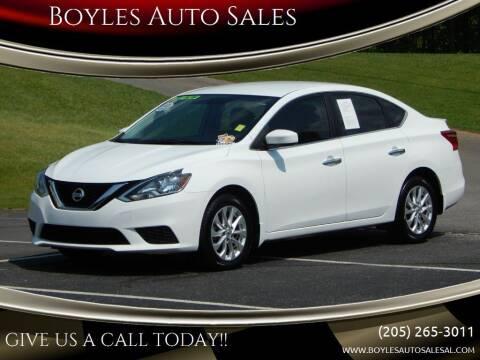 2017 Nissan Sentra for sale at Boyles Auto Sales in Jasper AL