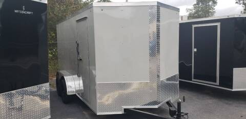2021 D & A Custom 7 x 14 TA 2 for sale at Grizzly Trailers - Trailers For Order in Fitzgerald GA
