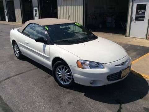 2003 Chrysler Sebring for sale at TRI-STATE AUTO OUTLET CORP in Hokah MN