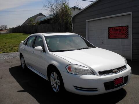 2012 Chevrolet Impala for sale at Marty's Auto Sales in Lenoir City TN