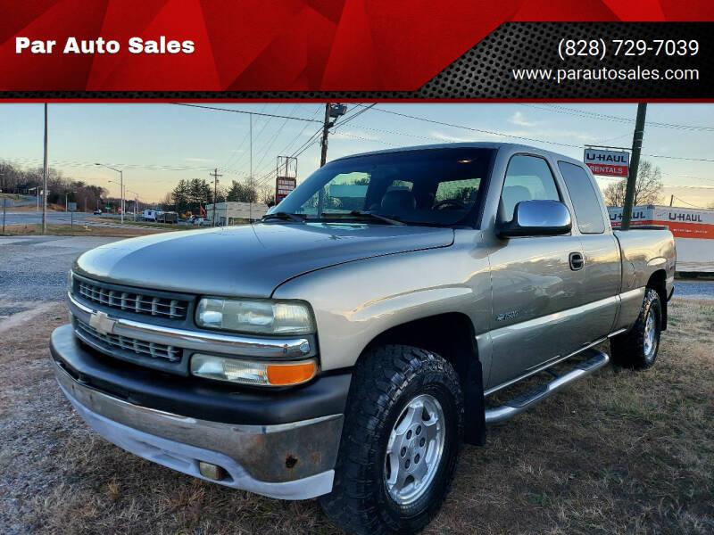 2001 Chevrolet Silverado 1500 for sale at Par Auto Sales in Lenoir NC