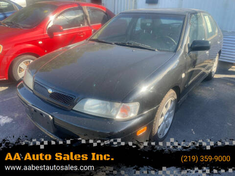 2002 Infiniti G20 for sale at AA Auto Sales Inc. in Gary IN