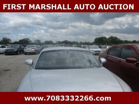 2008 Audi TT for sale at First Marshall Auto Auction in Harvey IL