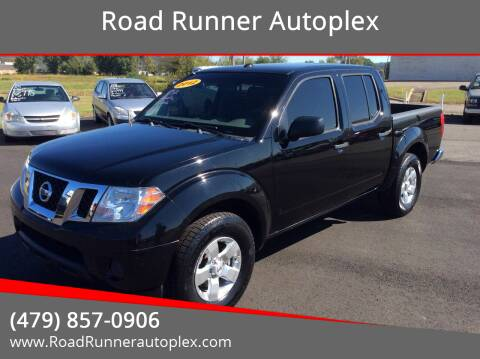 2012 Nissan Frontier for sale at Road Runner Autoplex in Russellville AR