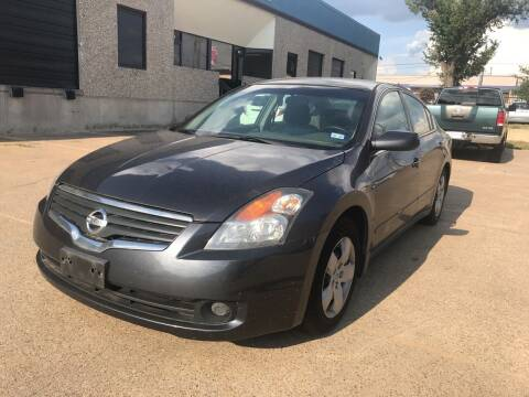 2008 Nissan Altima for sale at BJ International Auto LLC in Dallas TX