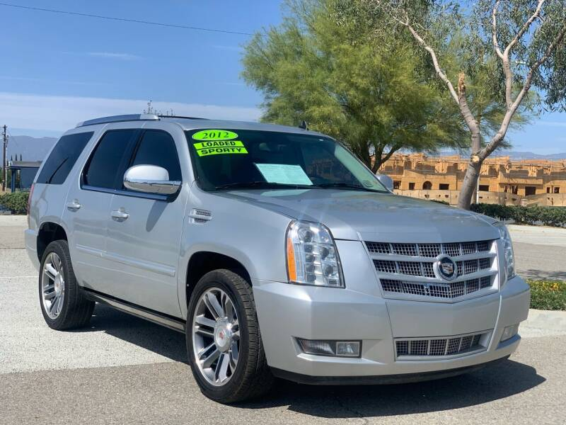 2012 Cadillac Escalade for sale at Esquivel Auto Depot in Rialto CA