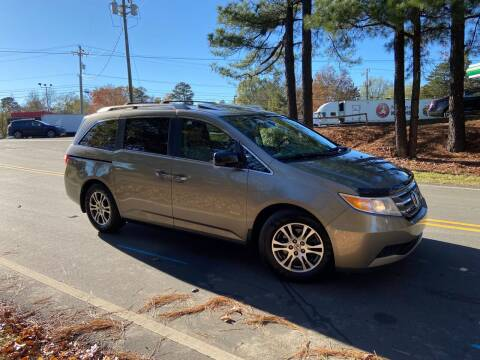 2013 Honda Odyssey for sale at THE AUTO FINDERS in Durham NC