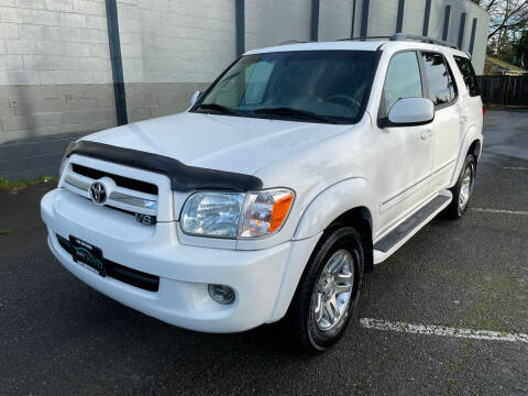 2005 Toyota Sequoia for sale at APX Auto Brokers in Lynnwood WA