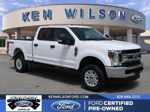 2018 Ford F-250 Super Duty for sale at Ken Wilson Ford in Canton NC