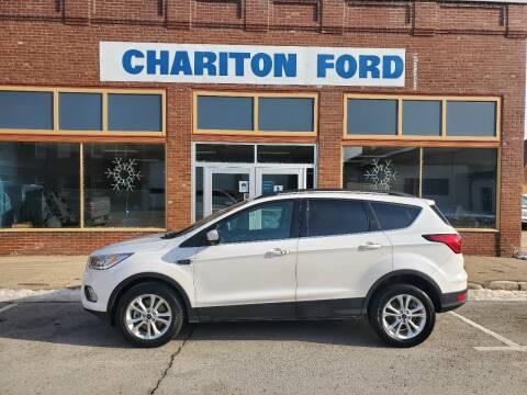 2019 Ford Escape for sale at Chariton Ford in Chariton IA