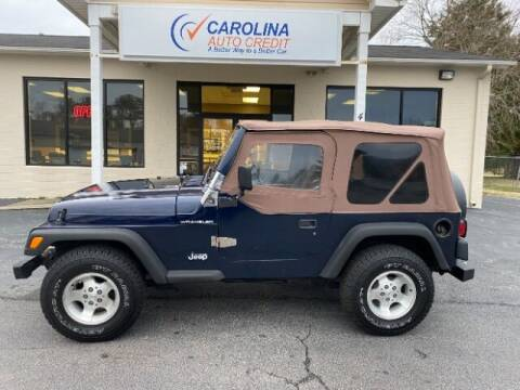 1997 Jeep Wrangler for sale at Carolina Auto Credit in Youngsville NC