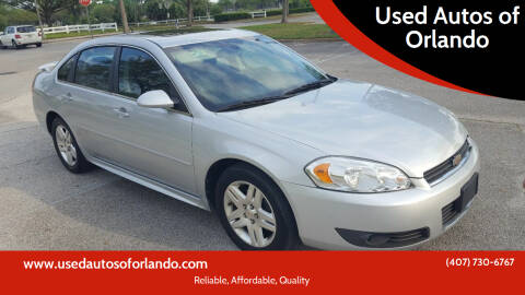 2011 Chevrolet Impala for sale at Used Autos of Orlando in Orlando FL