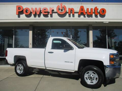 2015 Chevrolet Silverado 2500HD for sale at Power On Auto LLC in Monroe NC