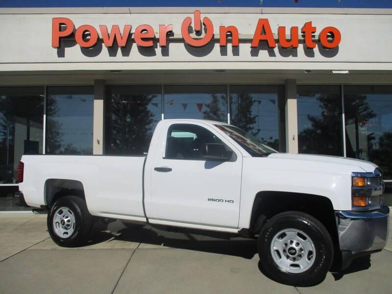 2015 Chevrolet Silverado 2500HD for sale at Power On Auto LLC in Monroe NC