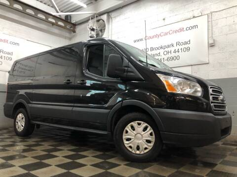 2015 Ford Transit Cargo for sale at County Car Credit in Cleveland OH