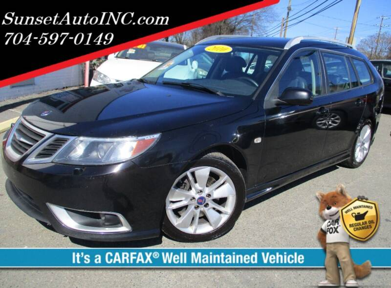 2010 Saab 9-3 for sale at Sunset Auto in Charlotte NC