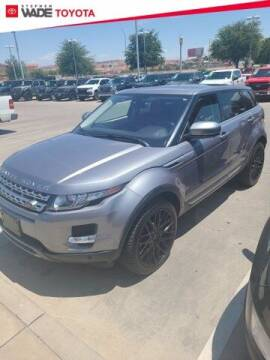 2013 Land Rover Range Rover Evoque for sale at Stephen Wade Pre-Owned Supercenter in Saint George UT